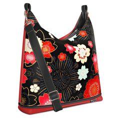 Bagbi One Fireworks black and red Fireworks, Shoulder Bag, Red, Bags, Fashion, Handbags, Moda, Fashion Styles, Shoulder Bags
