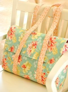 This one-piece handbag can be sewn in an afternoon.   over 150 quilting, sewing and children's patterns and thematic booklets.projects. Clever! Get the Pattern ♥More Than 20 Inspired Quilting and Sewing Patterns Hardcover-