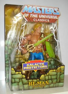 Galactic Protector He-Man Masters of The Universe Classics New Adventures