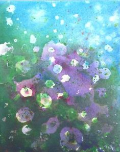 Here is a great technique for creating a sense of spontaneity and freshness to your painting by Laura Wilson. Try a new technique today so easy and fun to do.