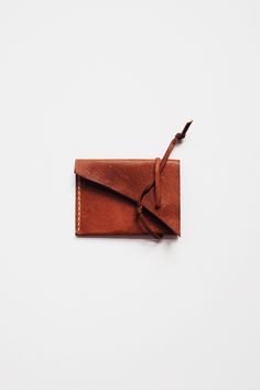 Indian Tan Leather Ties Wallet