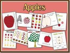Apples Unit - PreK, but some activities are still age appropriate for Kdg. kiddos