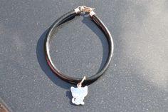 Leren armband met zilveren sluiting. http://www.dczilverjuwelier.nl/zilveren-armbanden/leren-armband-5003  gratis verzending binnen NL  #armband