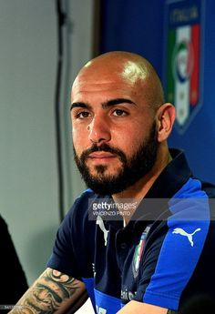 Italy's forward Simone Zaza attends a press conference following a training session at their training ground in Montpellier on June 20, 2016 during the Euro 2016 football tournament. / AFP / VINCENZO
