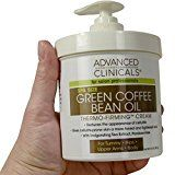 Advanced Clinicals Green Coffee Bean Oil Thermo-firming Body Cream 16oz Spa Size - http://47beauty.com/advanced-clinicals-green-coffee-bean-oil-thermo-firming-body-cream-16oz-spa-size/ Advanced Clinicals Green Coffee Bean Oil Thermo-firming Body Cream 16oz Spa Size   HUGE 16oz PUMP BOTTLE. Thermo firming cream is great for stomach, hips, upper arms, and body. Huge 16oz supply! Enhanced with Caffeine and natural tea extracts. Slimming body cream reduces the appearance of cellu