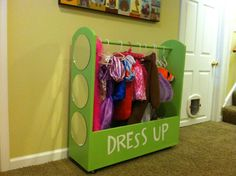 Dress Up Station | Do It Yourself Home Projects from Ana White.  Shane project for Livo.