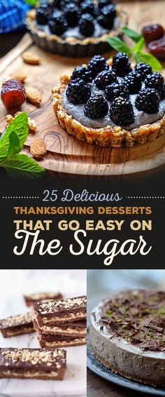 25 Delicious Thanksgiving Desserts That Go Easy On The Sugar