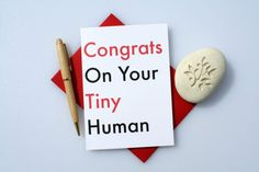 New Baby Card, Baby Congratulations Card, Funny Baby Card, Baby Shower, New Parents Card, Baby Girl, Baby Boy, Greeting Card