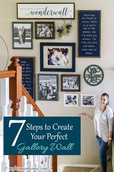 Looking to create the perfect gallery wall? These 7 steps will ensure you get it right the first time! Free printable and video tutorial included. Home Decor Bedroom, Diy Home Decor, Room Decor, Master Bedroom, Gallery Wall Layout, Gallery Walls, Living Room Gallery Wall, Ikea Living Room, Living Rooms