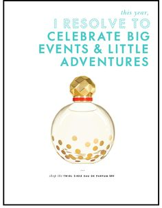 The Kate Spade new years resolution campaign is lovely.