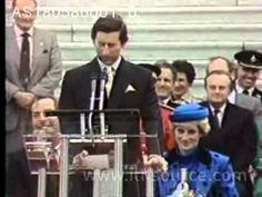 Princess Diana in Victoria, Canada  Diana in Victoria, British Columbia. May 1, 1986 (Apr 30?)