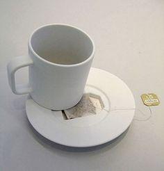 Plats för tepåse