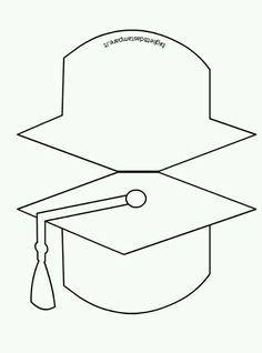 Image Result For Graduation Cap Template Free Printable Tiffany