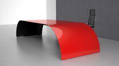 Executive desk made of carbon fiber and Kevlar Furniture Making, Carbon Fiber, Furniture Design, Desk, Paint, Top, Home Decor, Carbon Fiber Spoiler, Homemade Home Decor