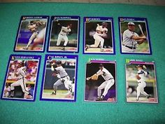 1991 Score Baseball Cards