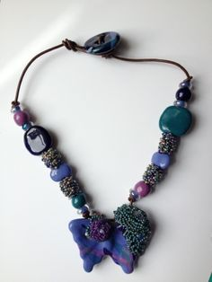 Another necklace view Bead Soup Blog Party Reveal!   On the Pond Creations