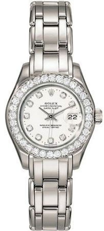 Rolex Pearlmaster Diamond Ladies Watch
