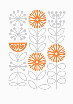 Florescence - - - - Sarah Abbott - - - ((Perfect or kitchen blinds should I ever do these in the future.
