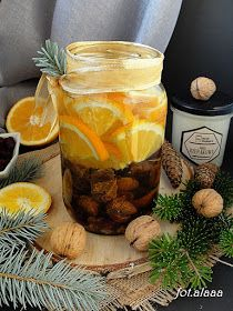 Polish Recipes, Christmas Cooking, Limoncello, Smoothie Drinks, Cocktail Drinks, Food Design, Candle Jars, Beverages, Food And Drink