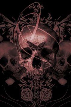 Tattoo inspiration... Butterfly skull