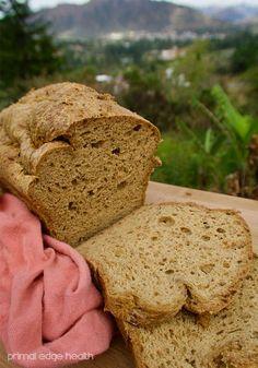 All-purpose keto bread sliced