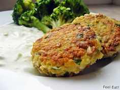 Feel Eat!: Zdrowe kotlety z kaszy jaglanej i jajek