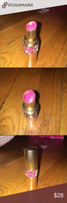 """YSL rouge volupte shine #6 """"pink in devotion"""" Used twice... 99% full. Beautiful color, amazing formula. If you want to see swatches look it up on google :) Makeup Lipstick"""