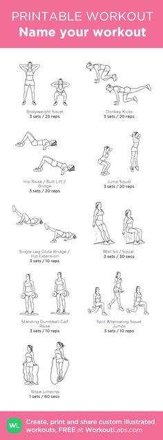 My Custom Printable Leg Workout by @WorkoutLabs #workoutlabs #customworkout I love this website... it's my new favorite