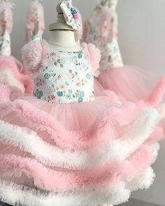 the Egi Dress 👗 Perfect for Easter and birthdays! Such a pretty little bounce! In stock and Ready to ship! Baby Girl Party Dresses, Birthday Dresses, Little Girl Dresses, Baby Dress, Flower Girl Dresses, Birthday Frocks, Kids Frocks, Frocks For Girls, Little Girl Fashion