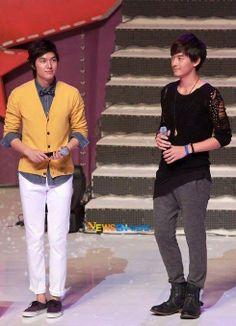 Lee Min Ho and Joe Cheng, tanta perfección en un solo cuadro