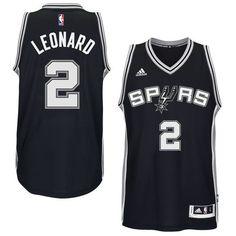 Men s Kawhi Leonard San Antonio Spurs Black Swingman Jersey by adidas. Pro  Image Sports at e8d77fae1