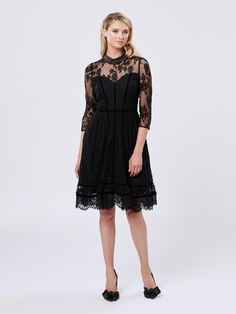 Postcards From Paris Dress Paris Dresses, Review Fashion, Lace Dress Black, Online Dress Shopping, Review Dresses, Diva Fashion, Dress Collection, Dresses Online, Clothes For Women