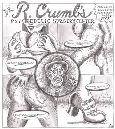 An homage to my favorite artist, R. Crumb