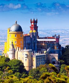 Pena National Palace in Sintra, Portugal (Palacio Nacional da Pena)       32 Stupendous Places in Portugal every Travel Lover should Visit