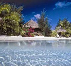 The island of Bora Bora  http://placesuwant2visit.blogspot.com/