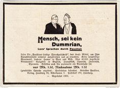 Original-Werbung/ Anzeige 1928 - PAUSTIAN'S LUSTIGE SPRACHZEITSCHRIFT   - ca. 140 x 100 mm