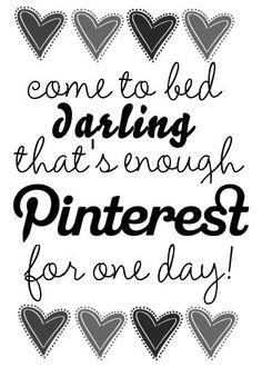 Addicted to Pinterest