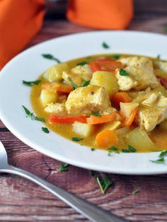 Thai Fish Yellow Curry with Barramundi