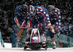 Steven Holcomb and his Bobsleigh Crew Vancouver Winter, Bobsleigh, Sport Icon, Winter Games, Winter Olympics, Photo L, Man In Love, Winter Sports, Sporty