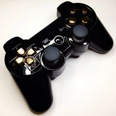 A custom modded GoldenEye PS3 controller from www.intensafirestore.com. From $79.95. #ps3 #ps3controller #playstation #modded #moddedcontroller #mw3 #black #blackops #blackops2 #gta #gtav #game #gamer #games #gaming #gamerchick #girlgamers #custom #customcontroller #pictureoftheday #ps4 #controllermods #controller #controllerporn #ps3porn #customcontrollers #moddedcontrollers #007 #jamesbond