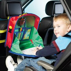 Personalized Car Activity Organizer (wonder how this stacks up to the One Step Ahead version??) $ 25
