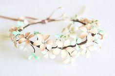 DIY Wire Nail Polish Flower Jewelry