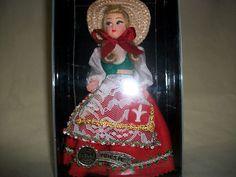 Vintage Trieste Florence Lela Souvenir Costume Doll 16cms Tall Boxed | eBay