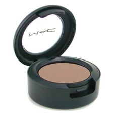 MAC Wedge eyeshadow pony uses it to contour nose and eyes