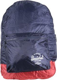 b172f1fe2f73 Herschel Supply Packable Daypack Backpack - navy red - Accessories Packs   Bags  Backpacks Street