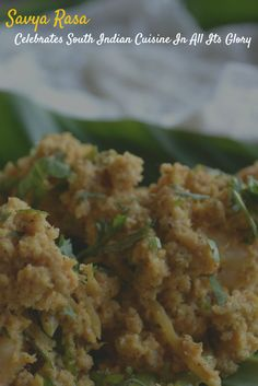 When The Muse Strikes!: Savya Rasa Celebrates South Indian Cuisine In All ...