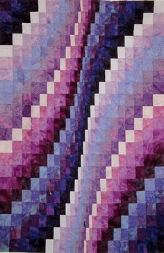Becky Botello, Bargello Quilt