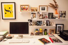 above desk
