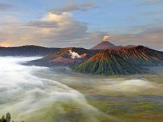 8. Vulcão Bromo, na Indonésia