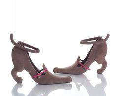 Chaussures teckel (Sausie dog shoes)